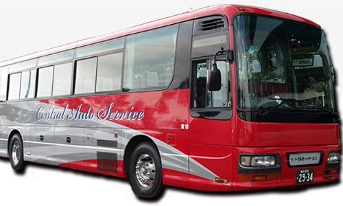 サークル合宿・ゼミ合宿のバス