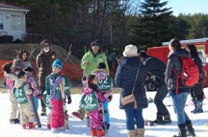 スキー教室 初めて ツアー