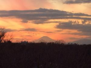 富士山 夕暮れ スポット