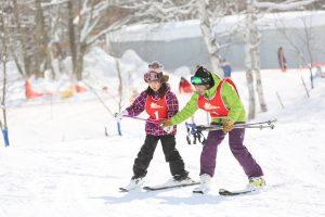 白樺湖 スキー 子ども